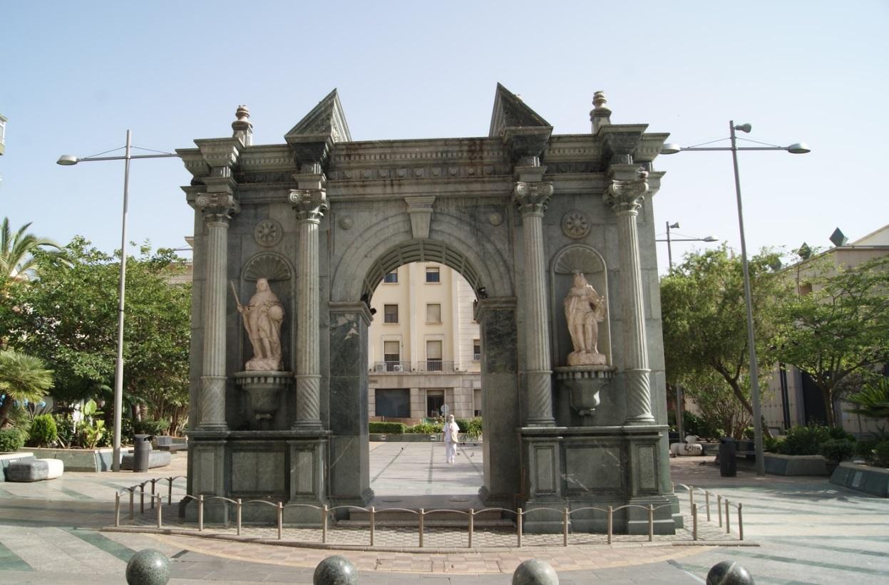 Arco del Triunfo Ceuta