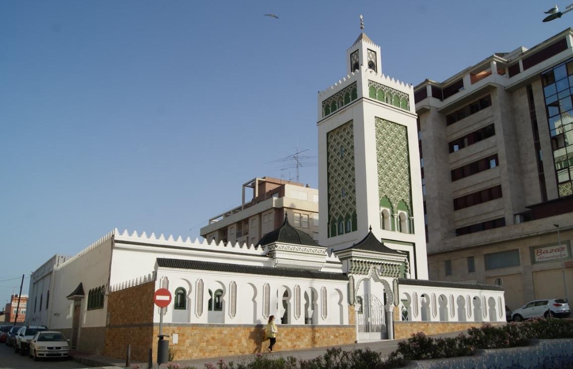 Mezquita de Muley El Mehdi en Ceuta
